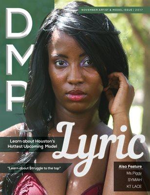DMP NOVEMBER ARTIST & MODEL ISSUE 2017