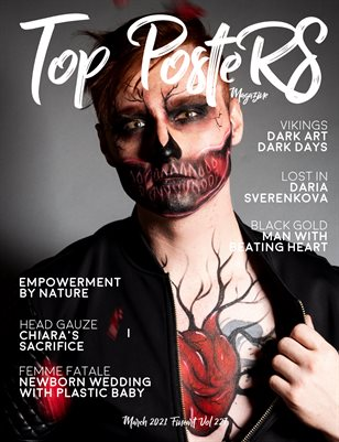 TOP POSTERS MAGAZINE - MARCH,FINEART (Vol 227)