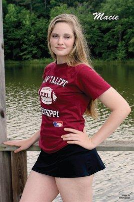 Macie-Maroon Raw Talent MS Shirt 1