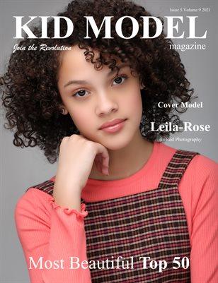 Kid Model Magazine Issue 5 Volume 9 2021 Most Beautiful Top 50