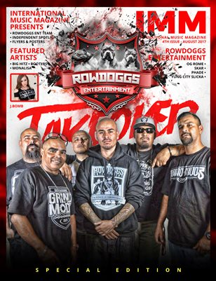 International Music Magazine - 4th Issue - Rowdoggs Takeover