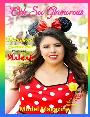 Ooh Soo Glamorous Model Magazine DISNEYLAND SPECIAL EDITION 2018