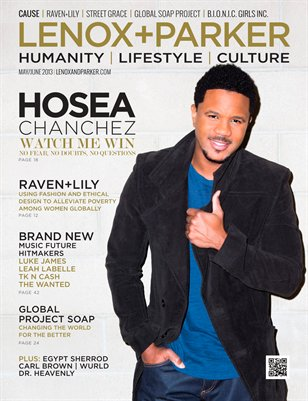 Hosea Chanchez | Watch Me Win | May/June 2013