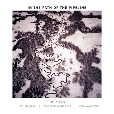 In The Path Of The Pipeline leave-behind