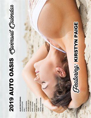 Kirstyn Auto Oasis Swimsuit Calendar