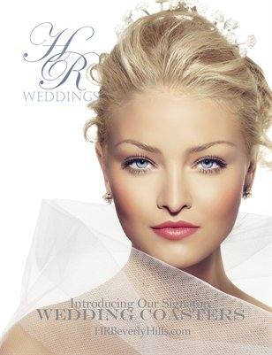 HR Beverly Hills Custom Wedding Magazine