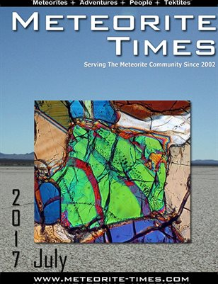Meteorite Times Magazine - July 2017 Issue