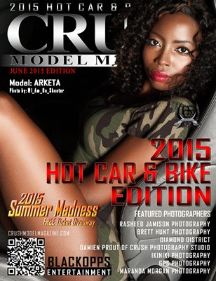 CRUSH Model Magazine 2015 Hot Car & Bike Edition