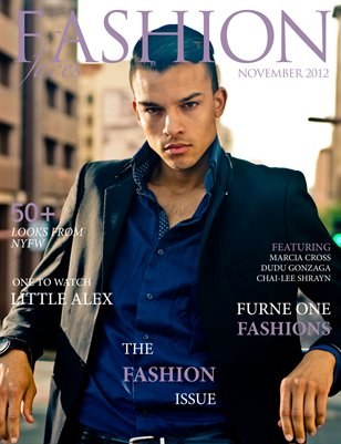 Fashion Faces November Issue 2012