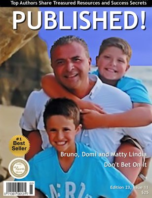 PUBLISHED! featuring Bruno, Domi and Matty Lindia