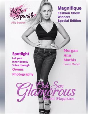 Ooh Soo Glamorous Model Magazine Magnifique Fashion Show Special Edition