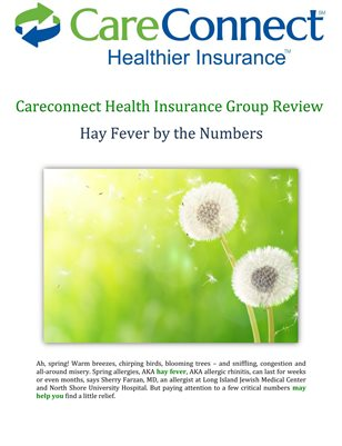 Careconnect Health Insurance Group Review: Hay Fever by the Numbers