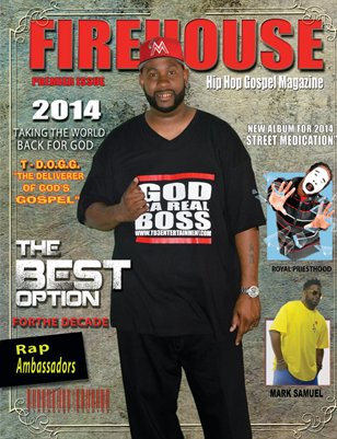 FireHouse Hip Hop Gospel Magazine
