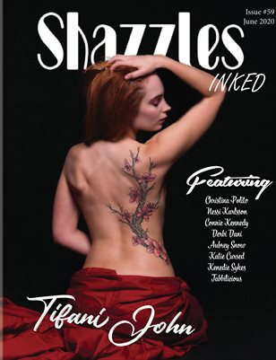 Shazzles Inked Issue #59 Cover Model Tifani John