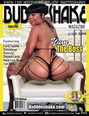 BUBBLE SHAKE MAGAZINE ISSUE #35 ( YUM THE BOSS)