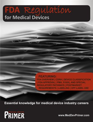 FDA Regulation for Medical Devices (revised)