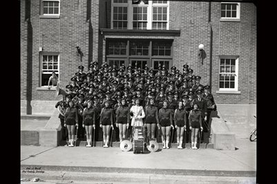 SEPT. 5, 1952 MAYFIELD HIGH SCHOOL BAND