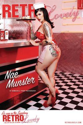 Retro Lovely No.165 – Nae Munster Cover Poster