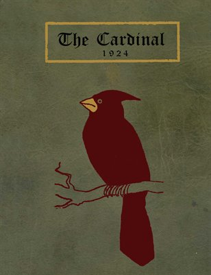 "1924 ""THE CARDINAL"" YEARBOOK, MAYFIELD, GRAVES COUNTY, KENTUCKY"