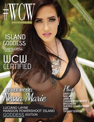 WCW Magazine Island Goddess Issue