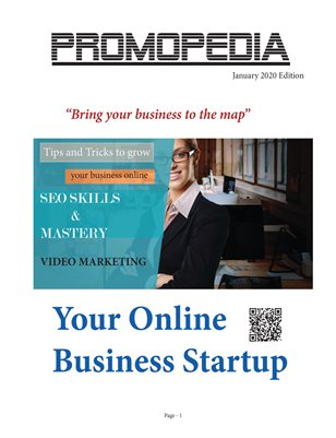 Your online business startup - Promopedia January 2020 Edition