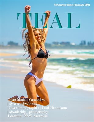 Teal Magazine Swimwear Issue