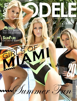 Model Modele Magazine Presents Summer Fun (Golden Girls)