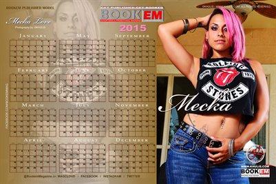 Meka Love 2015 Calendar 1