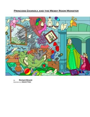 Princess Dannika and The Messy Room Monster
