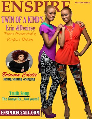 ENSPIRE MAGAZINE -Jan/Feb Issue