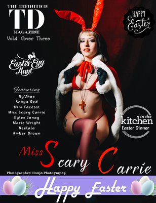 The Definition: Miss Scary Carrie Easter Theme Vol.4 Cover 3
