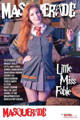Masquerade No.6 – Little Miss Fable Cover Poster