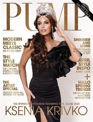 PUMP Magazine | The Fashion Pulse Edition | Vol.1 | April 2021