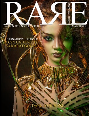 Rare Fashion Magazine March 2016