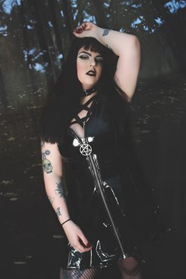 Metal Kitten Goth Goddess 2
