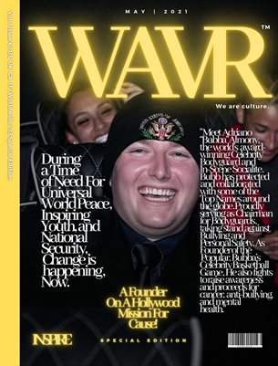 """Adriano """"Bubba"""" Almony WAVR Mag Special Edition May 21' Issue (Printed Magazine)"""