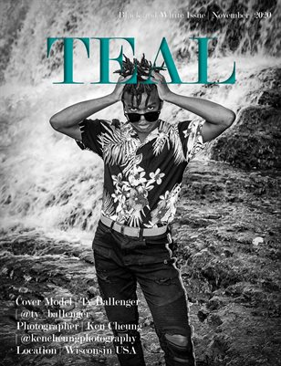 Teal Magazine Black and White Issue November 2020