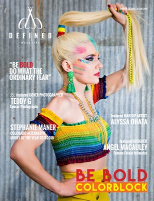 DEFINED MAGAZINE - TWENTY SECOND EDITION - COLORBLOCK