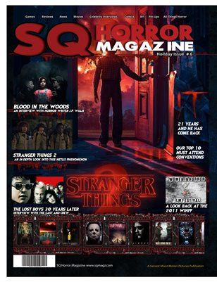 SQ Horror Magazine #6