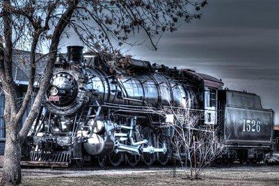 Museum Train In Lawton