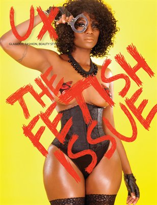 UX Magazine Issue 4: The Fetish Issue Cover 1