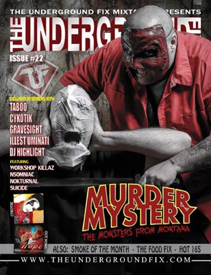 The Underground Fix Magazine Issue #22