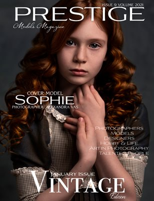 Prestige Models Magazine_ Vintage 9/2021