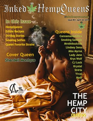 Inked HempQueens Magazine ~ Issue 1 ~ Shardell Monique