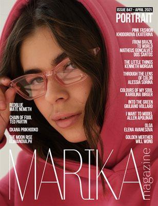 MARIKA MAGAZINE PORTRAIT (ISSUE 847- APRIL)
