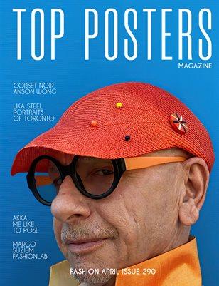 TOP POSTERS MAGAZINE- FASHION, APRIL(vol 290)