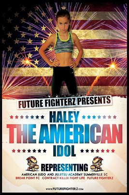 Haley Idol Fireworks - Poster