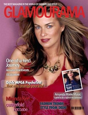 Glamourama magazine