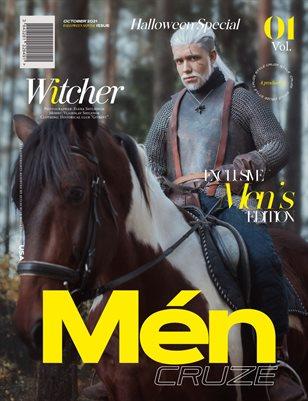 OCTOBER 2021 Halloween Issue (Vol: 01) | MEN CRUZE Magazine