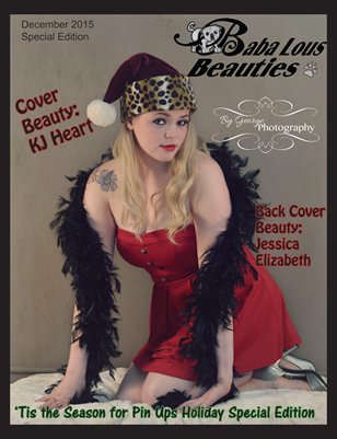 Baba Lous Beauties-'Tis the Season for Pin Ups Holiday Special Edition: December 2015